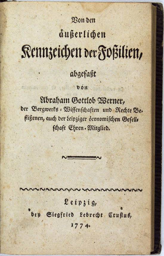 Вернер, абраам готлоб википедия