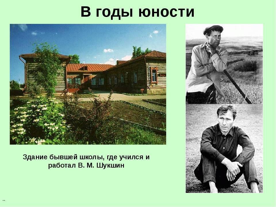 Василий шукшин - биография, информация, личная жизнь