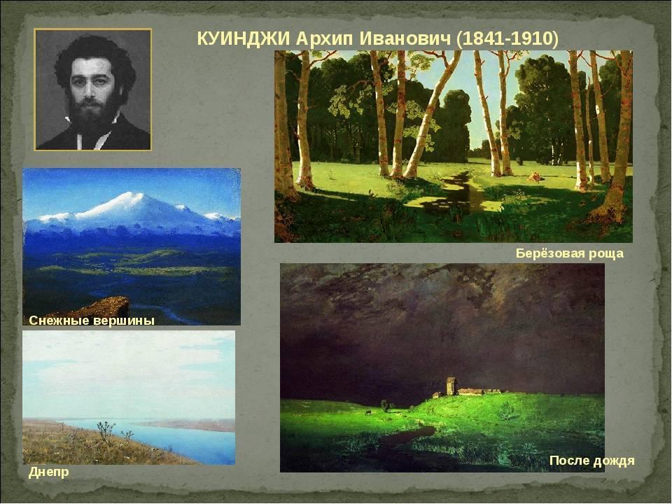 Биография Архипа Куинджи