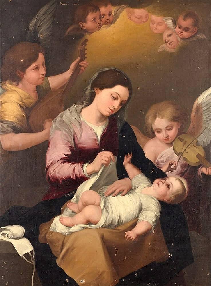 Мурильо – мастер религиозной и жанровой живописи