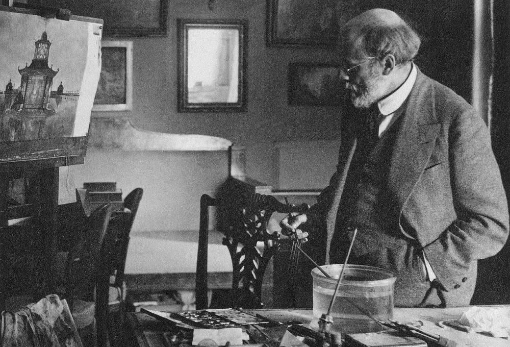 Разносторонний художник александр бенуа — самые известные картины и иллюстрации к книгам