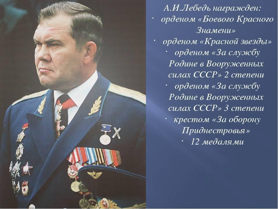 Генерал лебедь: самые сильные факты | русская семерка