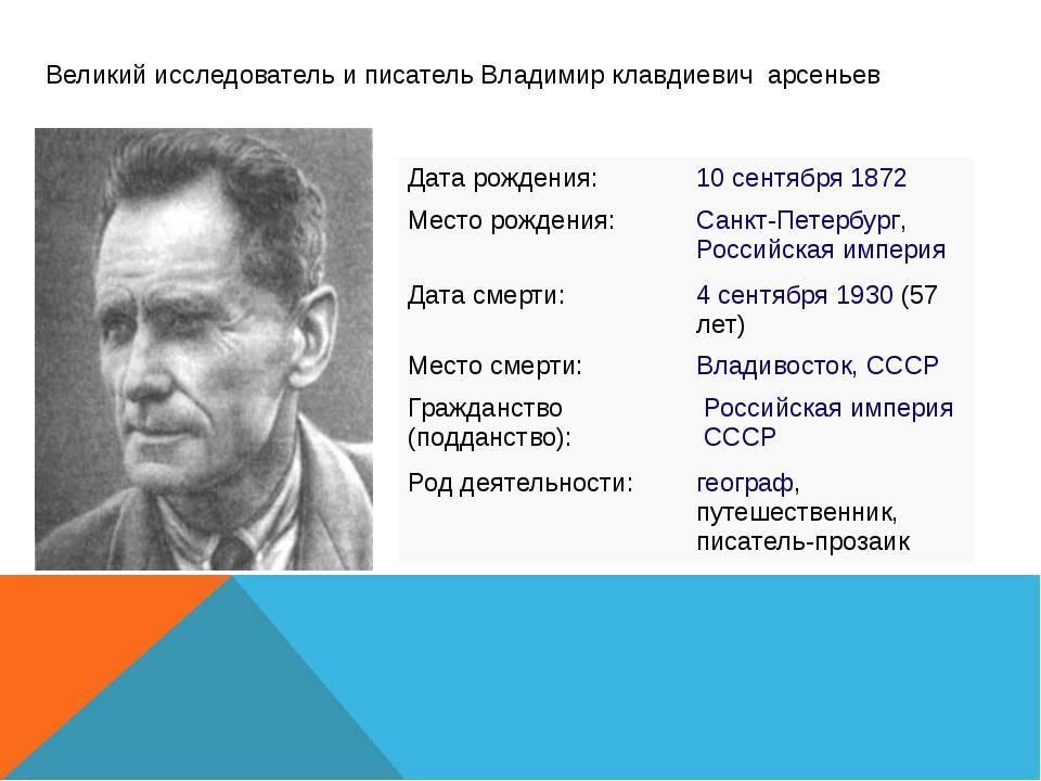 Ёлка в тайге. почему для приморья арсеньев, словно пушкин для россии?