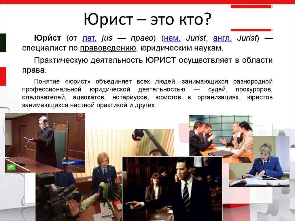 Самые известные юристы россии