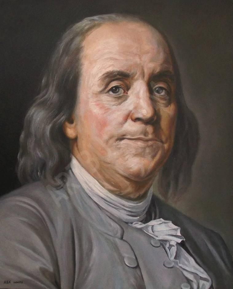 Бенджамин франклин – человек со 100-долларовой купюры