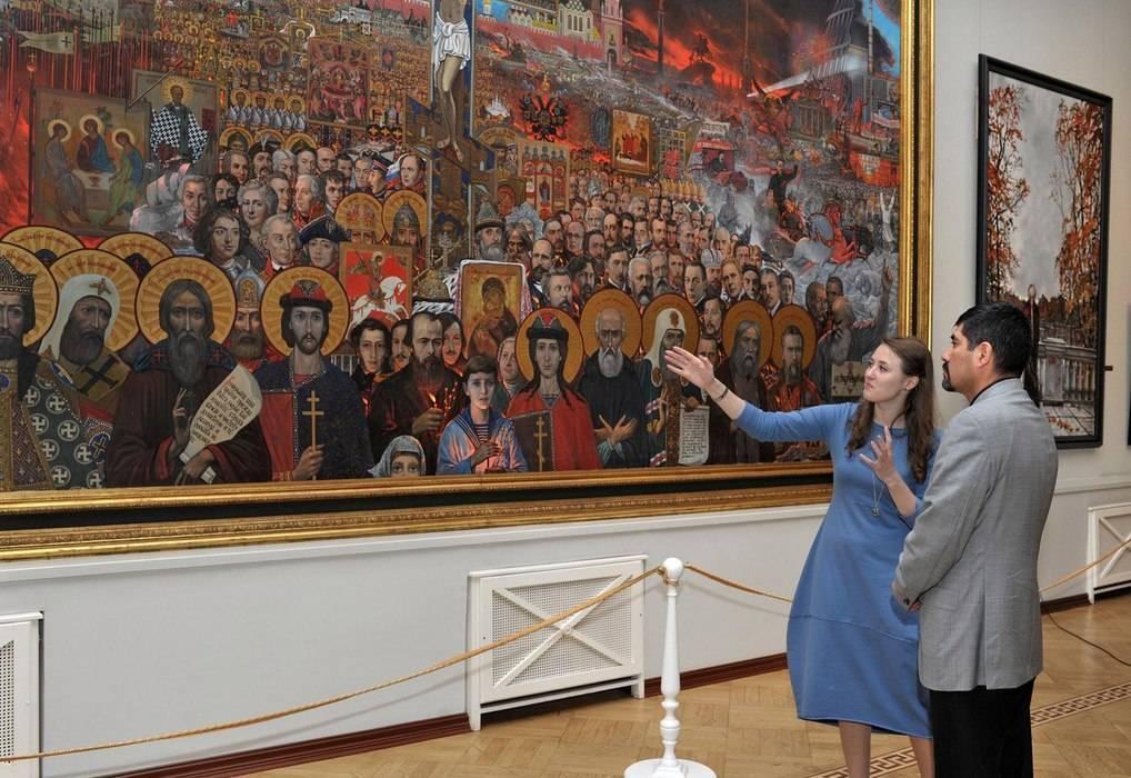 Илья глазунов — биография художника