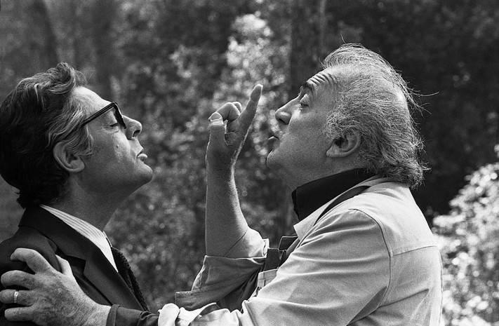 И смех, и слезы, и любовь: 27 лет назад не стало величайшего режиссера xx века, пятикратного оскароносца – федерико феллини (редкие фото)