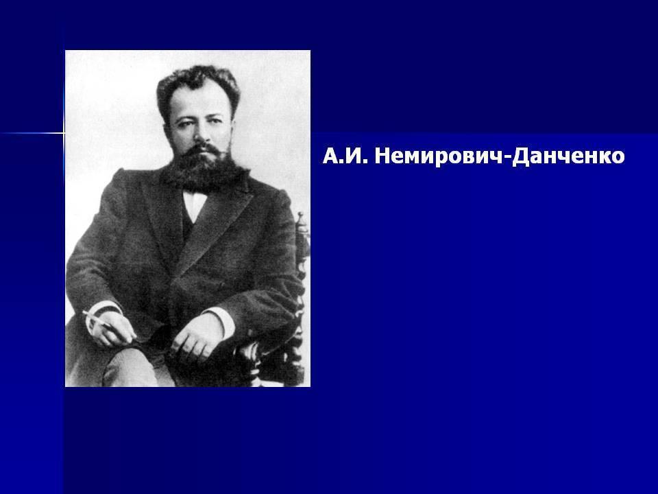 Немирович-данченко владимир иванович