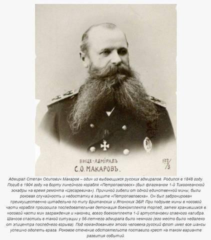 Биографиястепана осиповича макарова