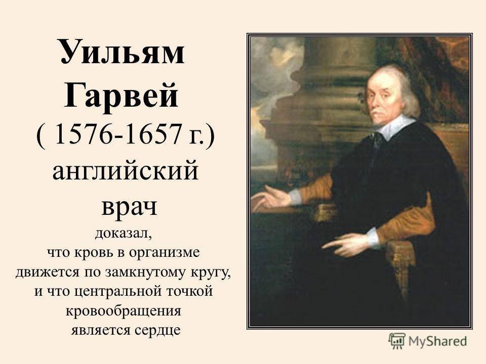 Гарвей уильям