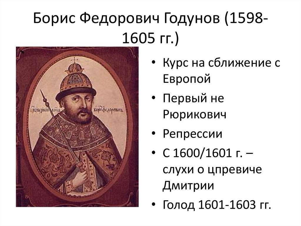 Годунов, борис фёдорович — википедия