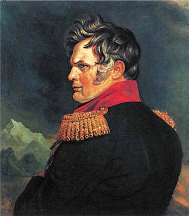 Алексей петрович ермолов р. 24 май 1777 ум. 11 апрель 1861 — родовод