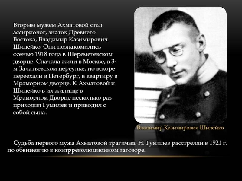 Владимир казимирович шилейко — викитека