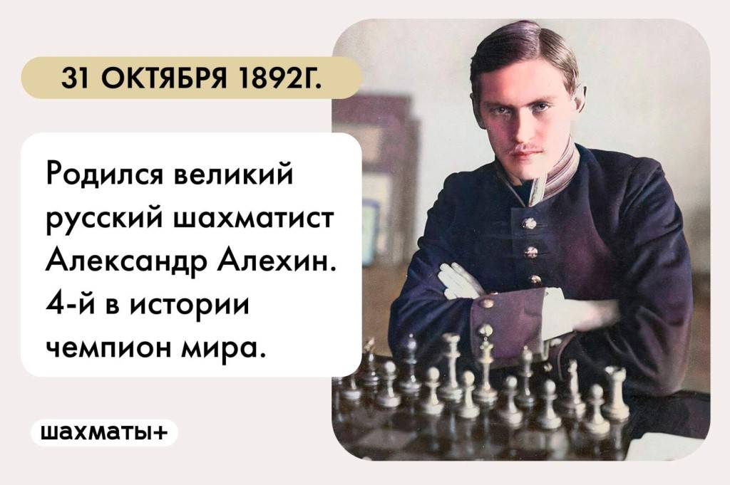 Биография Александра Алехина