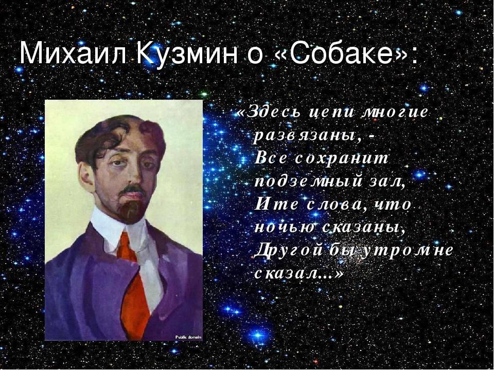Биография Михаила Кузмина
