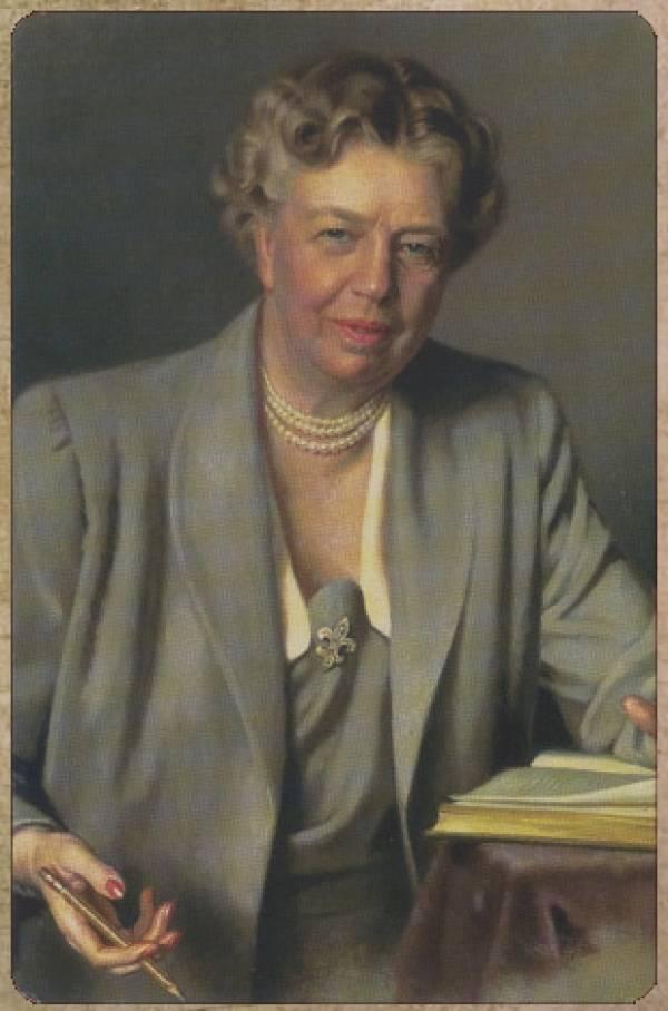 Первая леди мира элеонора рузвельт (1884–1962). первые леди америки