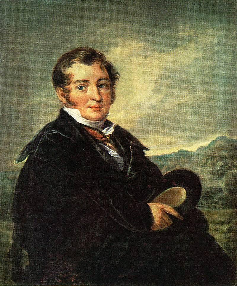 «гитарист» картина тропинина василия андреевича 1839 года