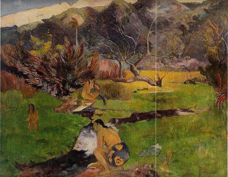 Самые красивые картины поля гогена (фото и описание)