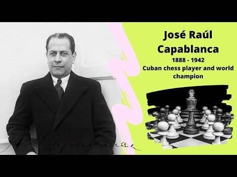 Хосе рауль капабланка | биография шахматиста, партии, фото, видео