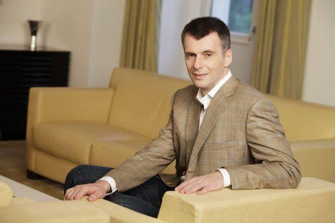 Михаил прохоров - история, интересные факты, биография.