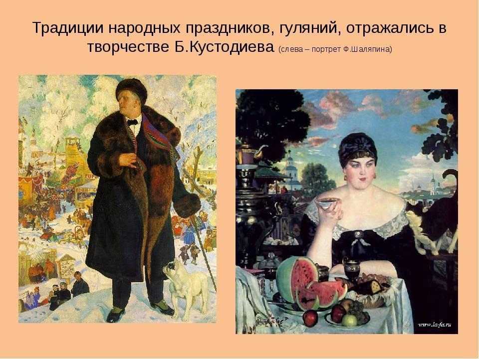 Кустодиев, борис михайлович