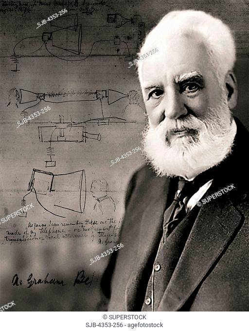 Biography of alexander graham bell, inventor of the telephone
