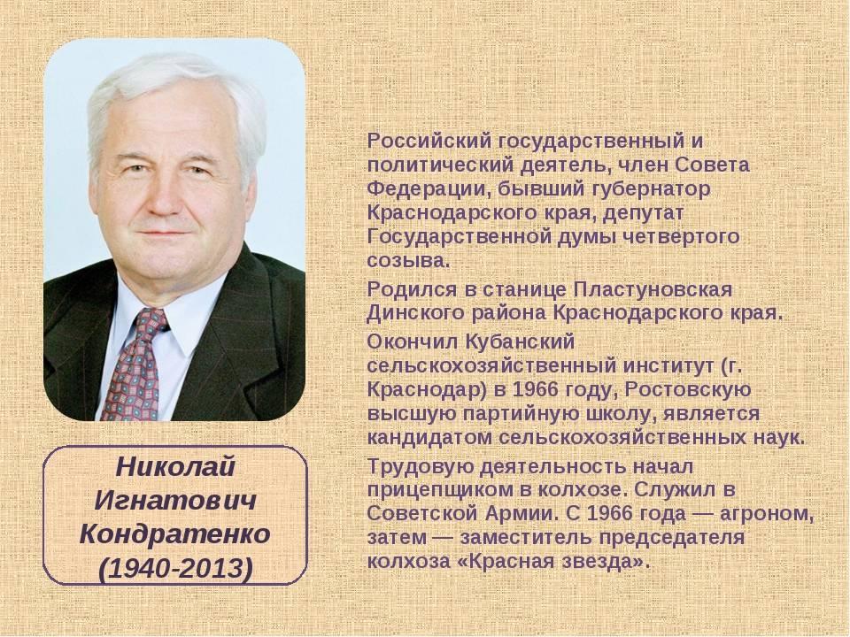 Выдающиеся личности в истории россии