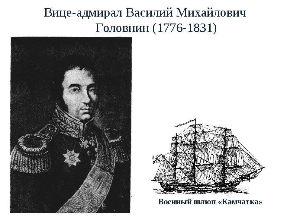 Василий головнин википедия