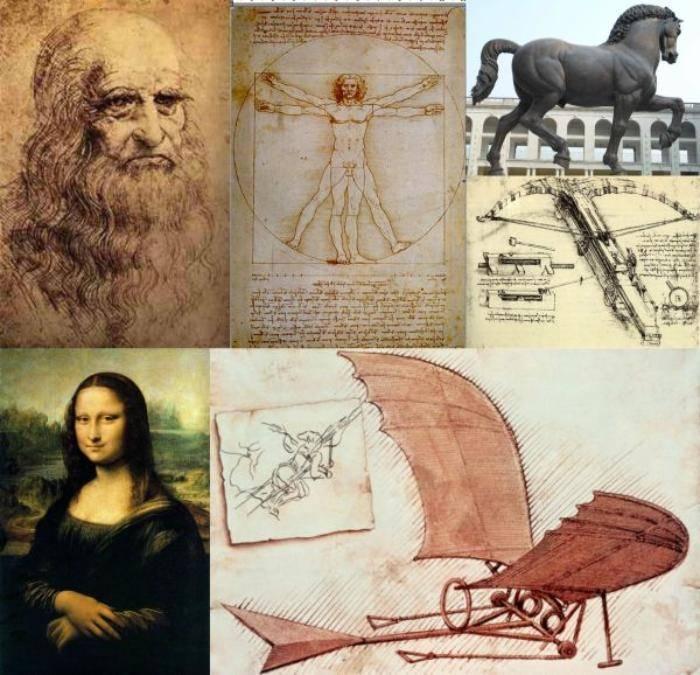 Картины леонардо да винчи. 5 вечных шедевров