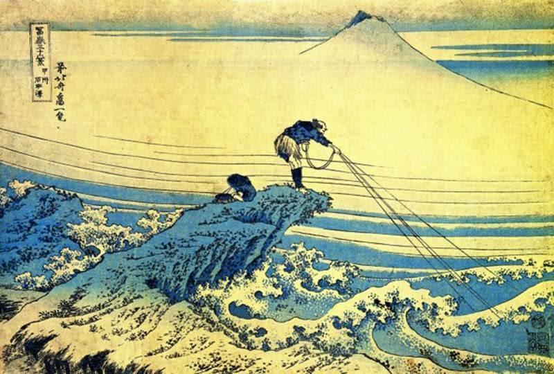 «большая волна» хокусая: секрет популярности | дневник живописи