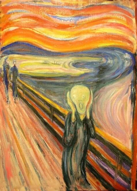 «крик» мунка. о самой эмоциональной картине в мире   дневник живописи