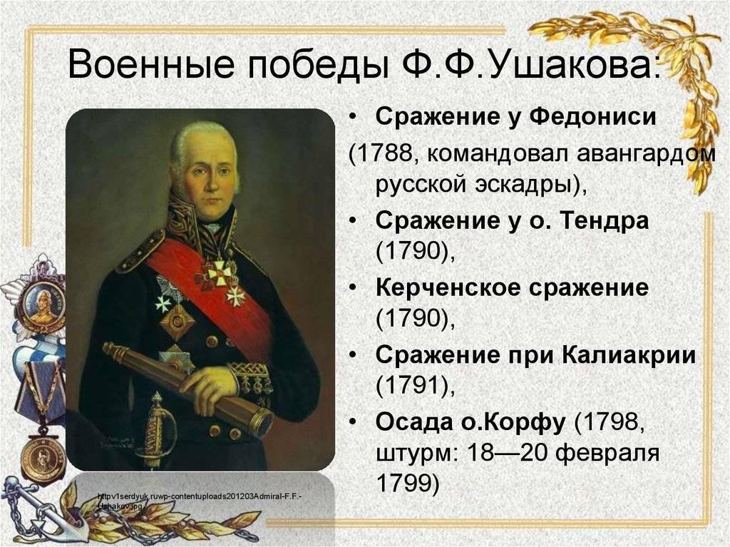 Биография ушакова федора федоровича