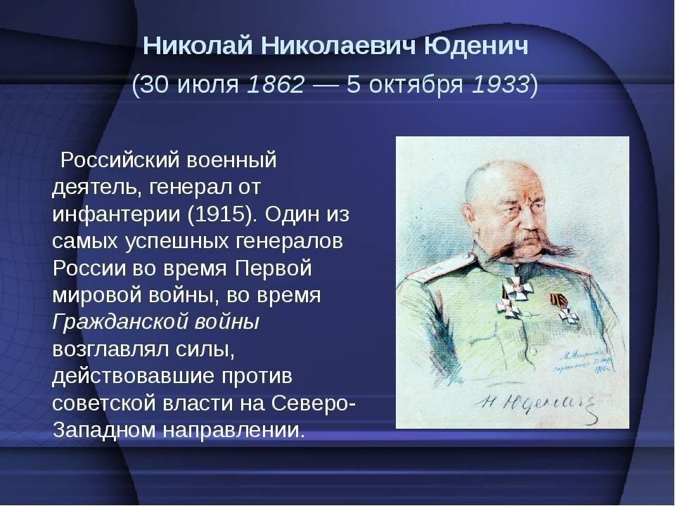 Николай юденич | фронт вики | fandom