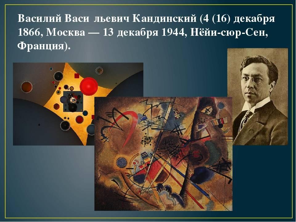 Кандинский биография, самые известные картины/произведения