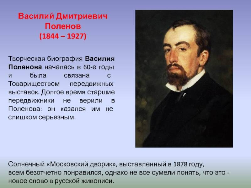 Биография Василия Поленова