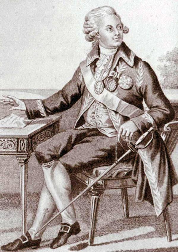 Потемкин григорий александрович — краткая биография   краткие биографии