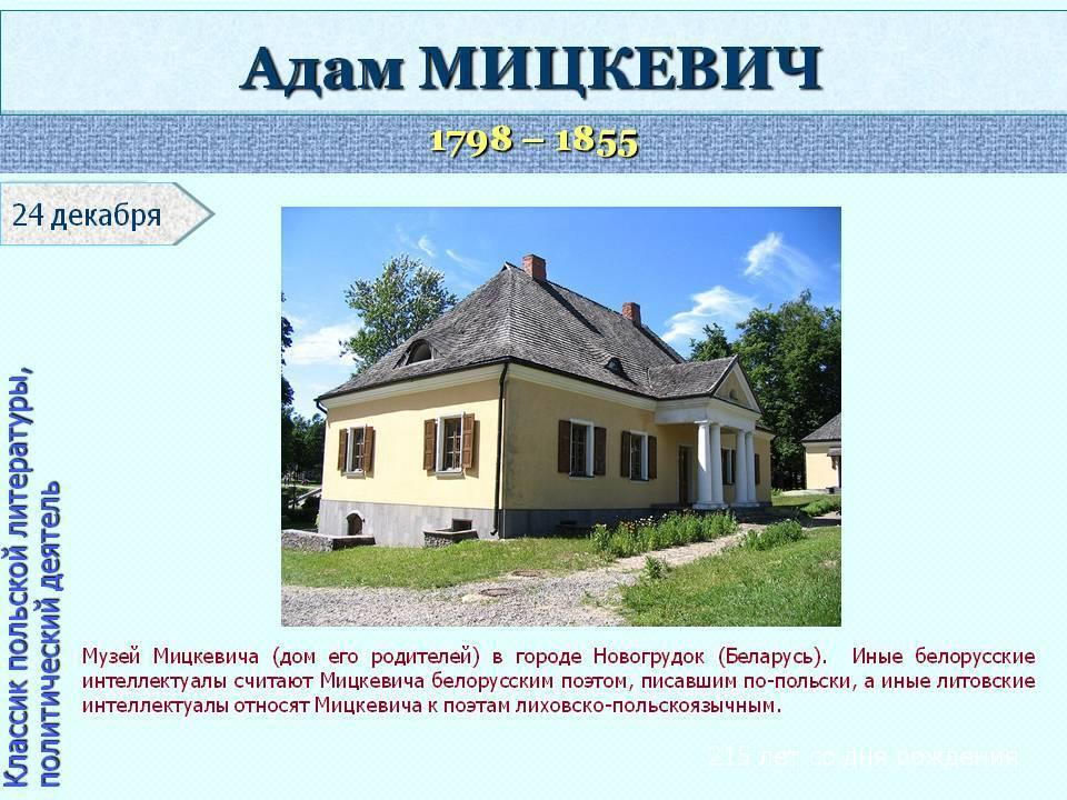 Мицкевич - вики