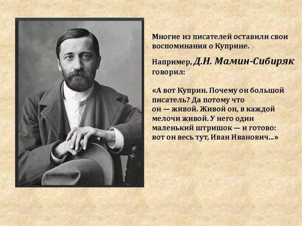 Биография Александра Куприна