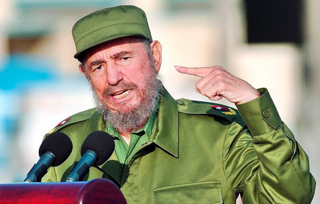 Фидель кастро — биография кубинского лидера   исторический документ