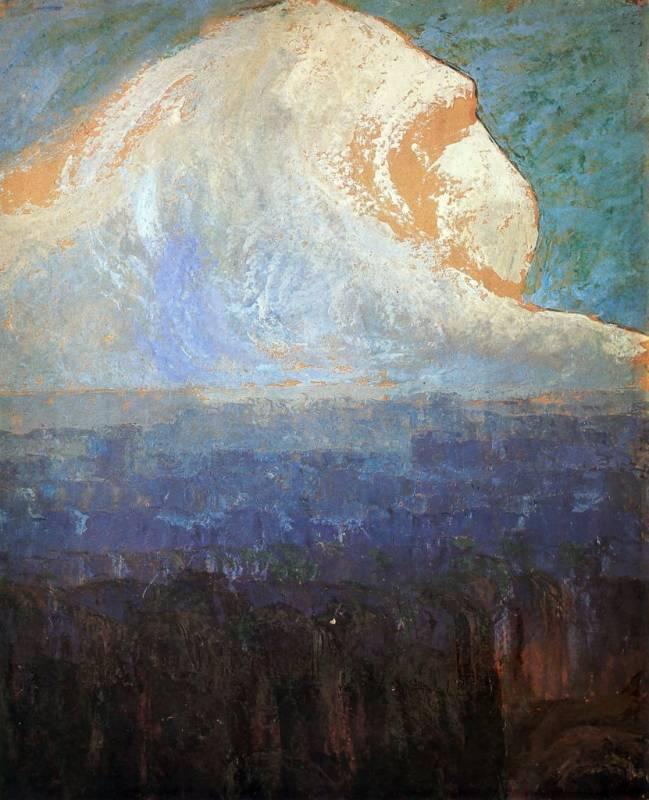 Смотрящий в высоту (м. чюрленис) : новый мир