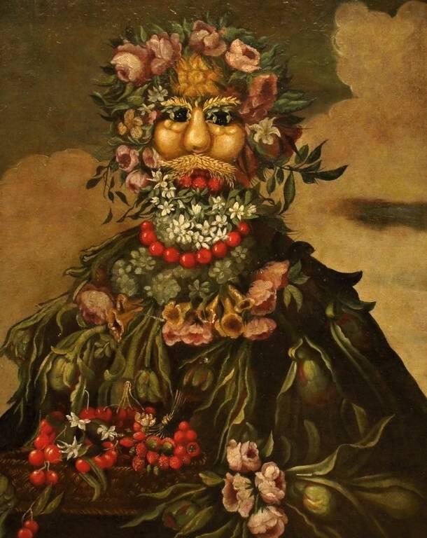 Арчимбольдо, джузеппе. картины с названиями. годы жизни (1526-1593)