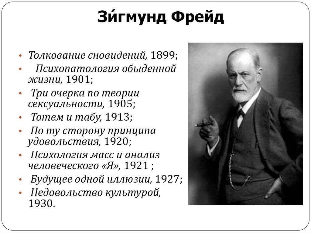 Зигмунд фрейд: биография врача-психиатра, его вклад в науку
