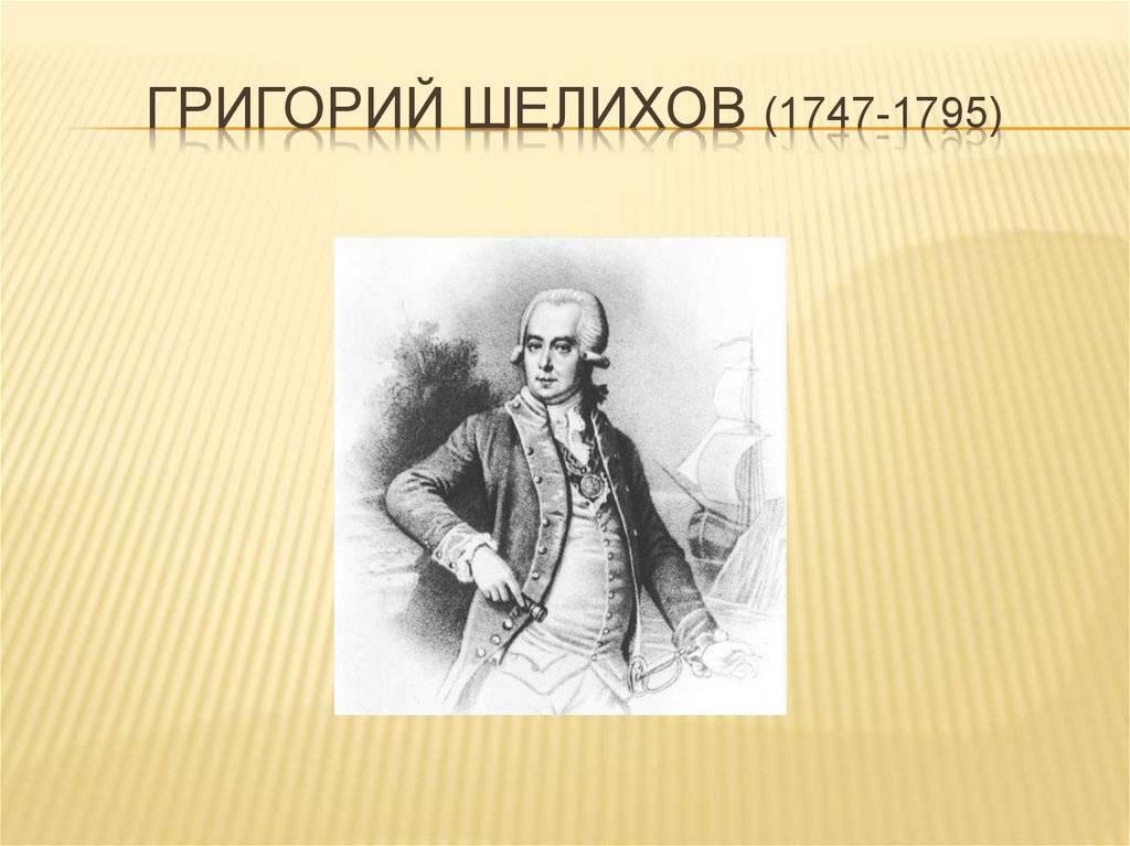 Григорий  шелихов