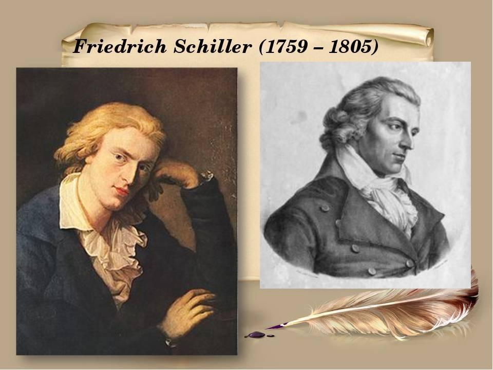Творчество и биография шиллера фридриха