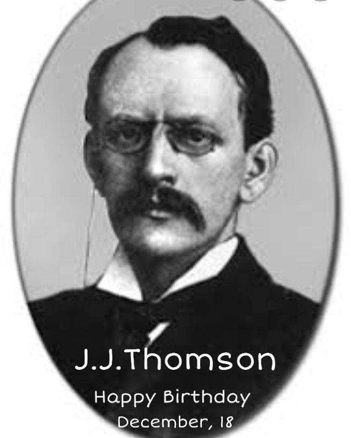 Томсон, джозеф джон — википедия