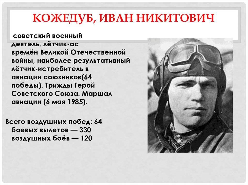 «нанёс врагу огромный ущерб»: как иван кожедуб стал одним из самых результативных асов антигитлеровской коалиции — рт на русском