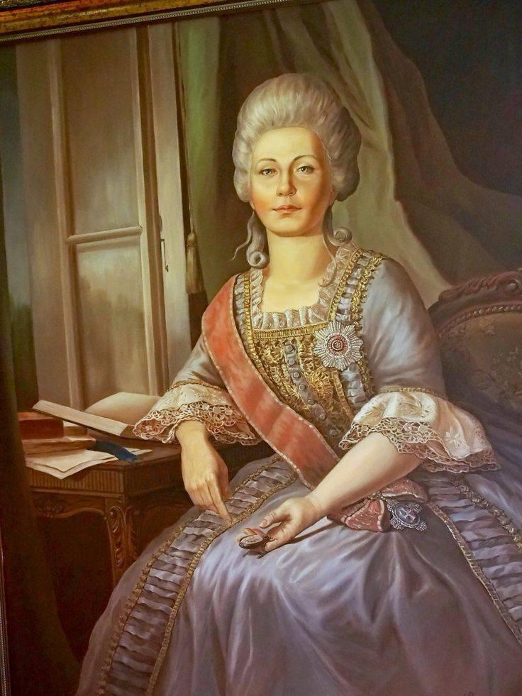 Дашкова, екатерина романовна — википедия