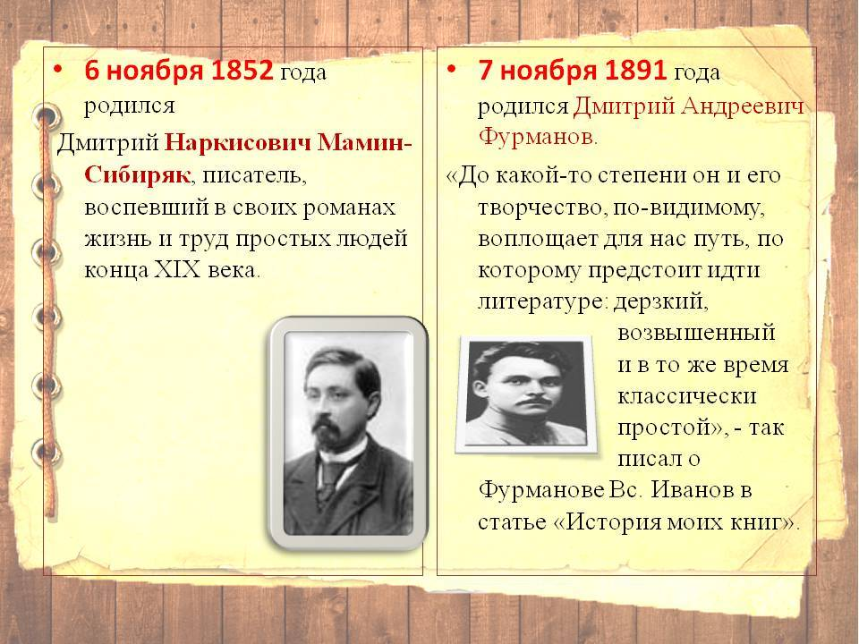 Мамин-сибиряк — сообщение о писателе: биография и творчество, известные произведения