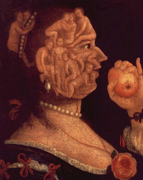 «вертумн», джузеппе арчимбольдо — описание картины - галерея