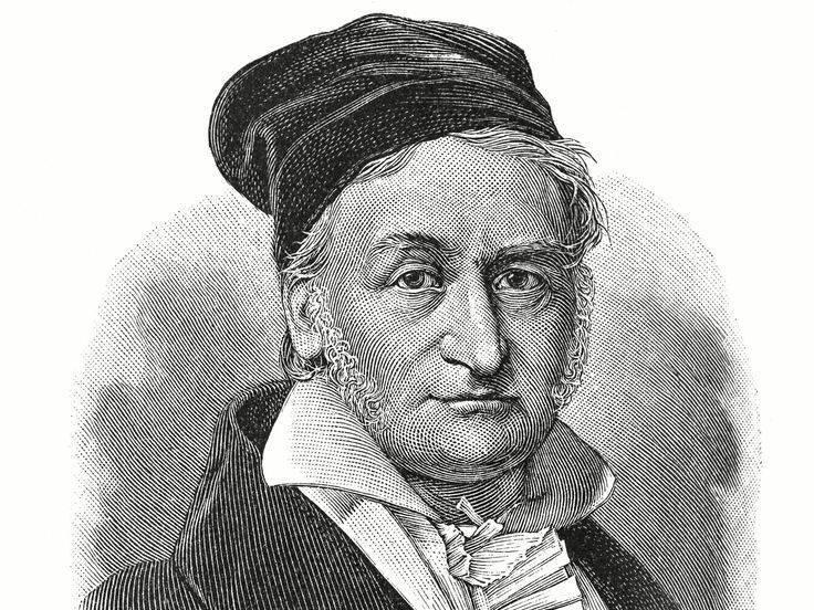 Великий математик гаусс: биография, фото, открытия